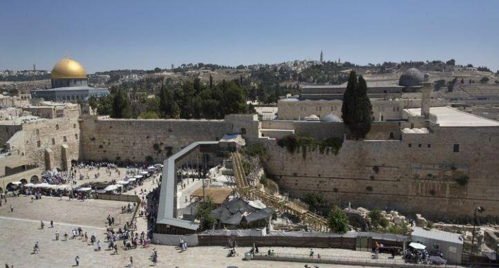 Jérusalem, 4 septembre 2014. (Photo Menahem Kahana. AFP)