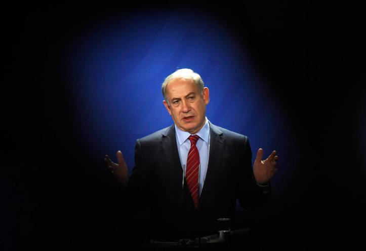 Le Premier ministre israélien Benjamin Nétanyahou à Berlin, le 21 octobre 2015. PHOTO TOBIAS SCHWARZ/AFP