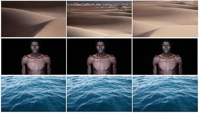 Avec « Crossings », Leila Alaoui se focalise sur la Méditerranée comme point d'intersection des migrations. Photo Leila Alaoui